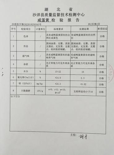 楚怡咸蛋黄质量检验报告(2019)-3